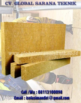 Rockwool Slab Tebal 25mm