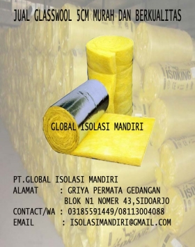 JUAL GLASSWOOL MURAH