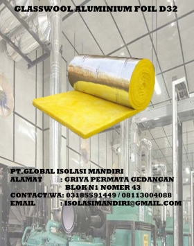 Alumunium Foil Bubble Glasswool 2020