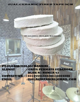 ceramic fiber tape 5cm murah