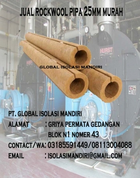 Rockwool Pipa 25mm