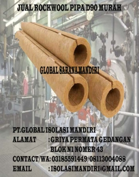 Rockwool Pipa 2x25mm