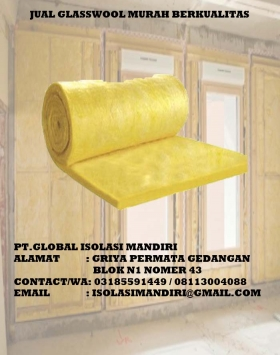 Glasswool Roll Peredam Suara 30M