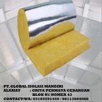 glasswool aluminium foil d16 murah
