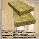 Rockwool Lembaran Peredam Suara Density 80 / 25mm
